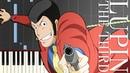 Lupin the Third Main Theme PIANO