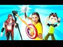 Toy Friend • Видео для детей сБен 10— Часы омнитрикс УКРАЛИ! —Ищем игрушки сБен Тен!