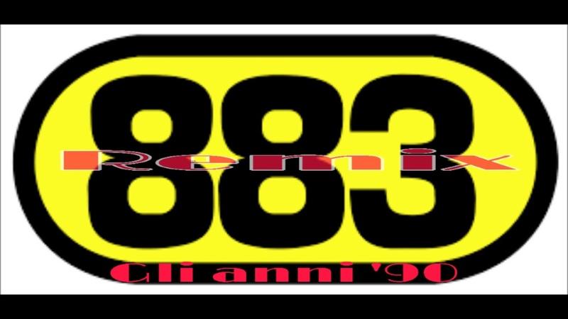 883 GLI ANNI '90 VERSION REMIX SELECTION DJ HOKKAIDO