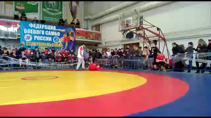 Чемпионат СКФО по Боевому Самбо Гаджимурад Джамалдинов