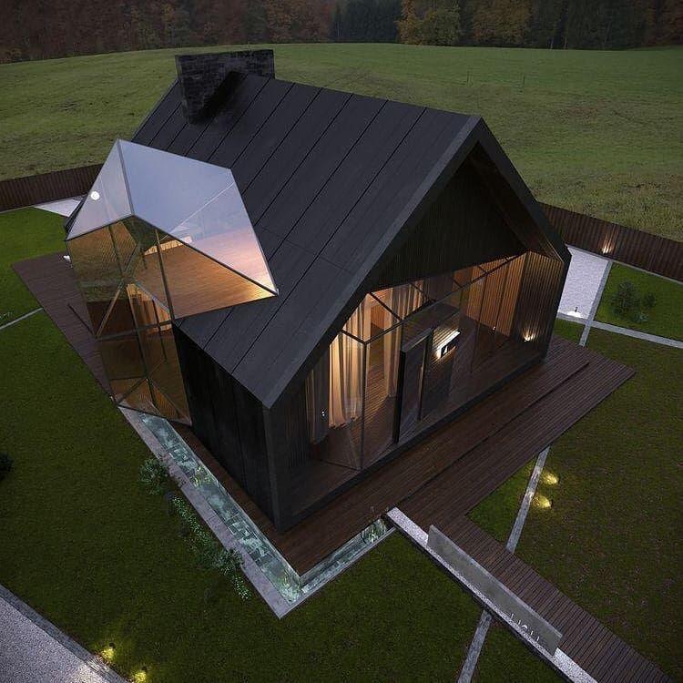 Chalet II designed by B   S Building Company, Poltava, Ukraine