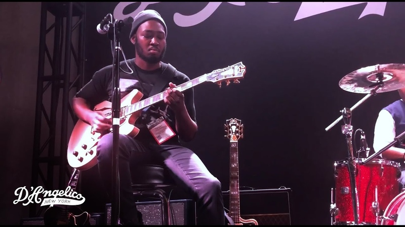 Isaiah Sharkey R B and Gospel Jam NAMM 2018 D'Angelico Guitars