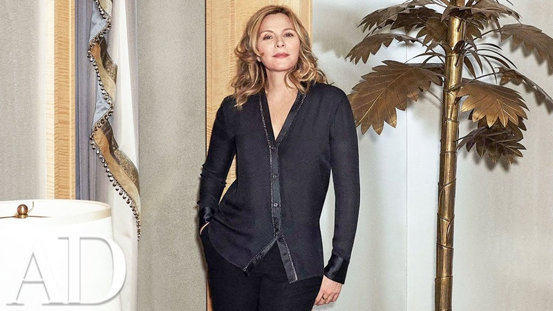 Inside Kim Cattrall's NYC Home that Has a Monkey Room Celebrity Homes Architectural Digest