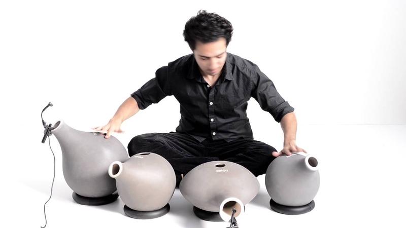 Doyek - Set of 4 Doyek udu drums by Shayan Fathi
