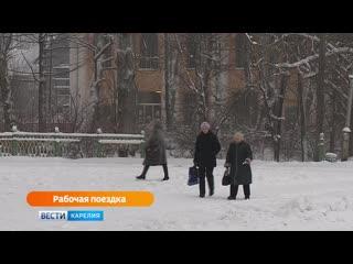 Начинается двухдневная рабочая поездка главы республики в северные районы Карелии  в Сегежский и Беломорский