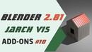 Blender 2.81 Аддон JARCH-Vis