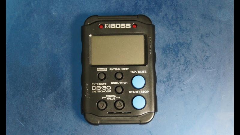 Обзор на цифровой метроном BOSS Dr.Beat DB-30.
