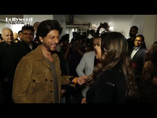 Shahrukh khan SURPRISE Visit For Wife Gauri Khan At Maison  Objet's 25th Anniversary Celebration