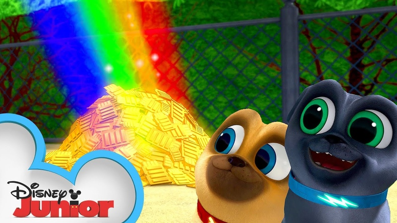 Bingo and Rolly's Pot of Gold 🥇 Puppy Dog Pals Disney Junior