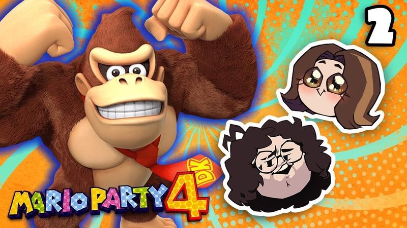 Admiring Donkey Kong's monkey mounds Mario Party 4 PART 2