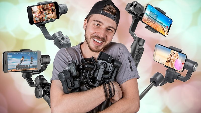 ВЫБИРАЮ СЕБЕ СТАБИЛИЗАТОР DJI Osmo 2 vs Moza Mini Mi vs Zhiyun Smooth 4 vs Vimble 2
