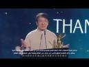 Jackie Chan getting Joy Award (RUS SUB)