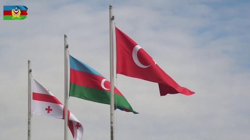 """Bakıda """"Qafqaz Qartalı - 2019"""" birgə təliminin açılış mərasimi olub - 23.09.2019"""