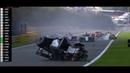Crash Horror in formula 2 Belgium 2019 incidente grave coinvolti 3 piloti R I P Anthoine Hubert 😞