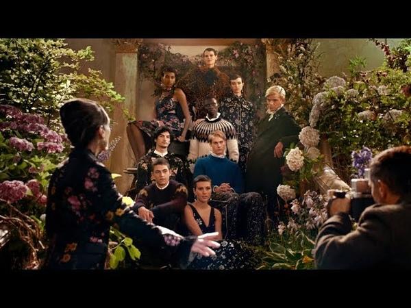 ERDEM x HM: The Secret Life of Flowers by Baz Luhrmann