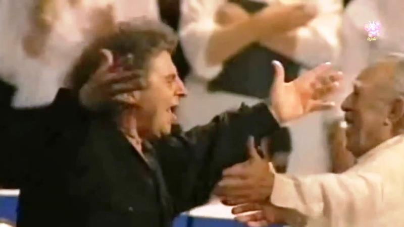 Mikis Theodorakis Anthony Quinn Munich 1995