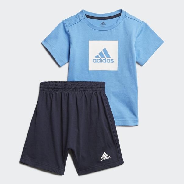 Комплект: футболка и шорты Logo