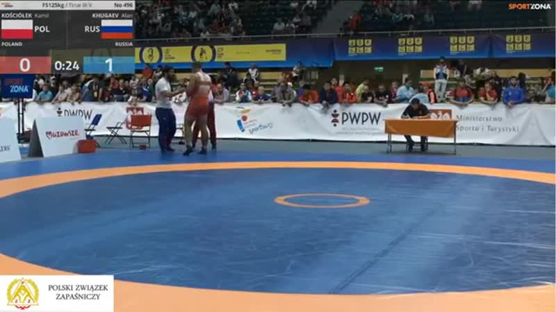FS125 Finał III-V Kościółek Kamil (POLAND) - Khugaev Alan (RUSSIA)Вацлав Циолков