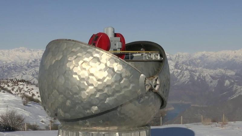 Российские военные звездочеты следят за космическим трафиком в горах Таджикистана