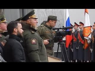 Открытие памятника в Военном университете МО РФ