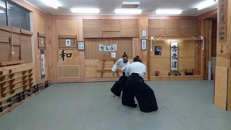 Aikido zanshin