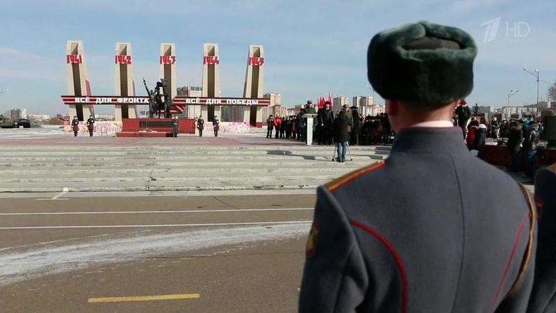 Торжественные мероприятия вчесть Дня защитника Отечества завершаются праздничными салютами
