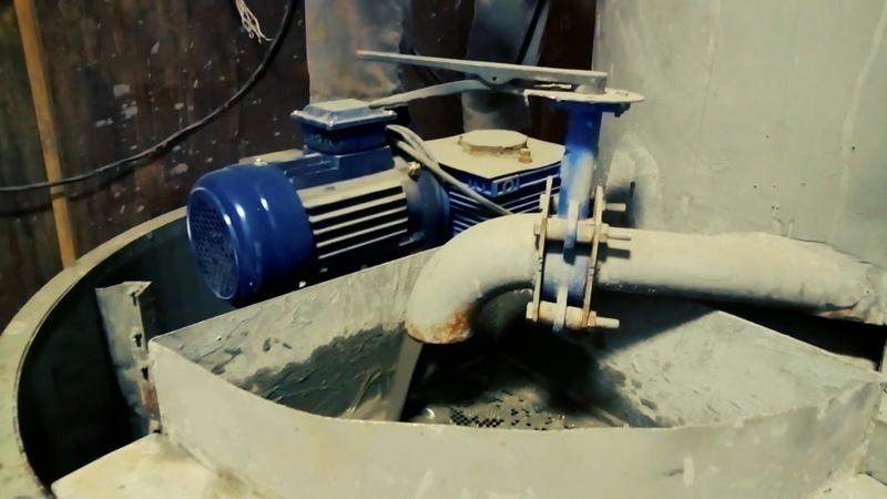 Оборудование для непрерывного производства пенобетона