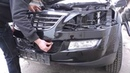 Как снять передний бампер на Ssang Yong to remove the front bumper to Ssangyong