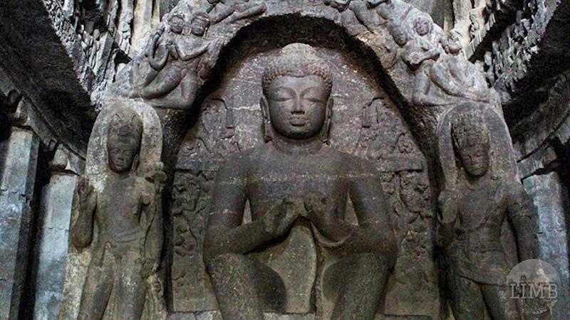 Храм Кайласанатха Уникальный Индийский храм высеченный в скальном массиве