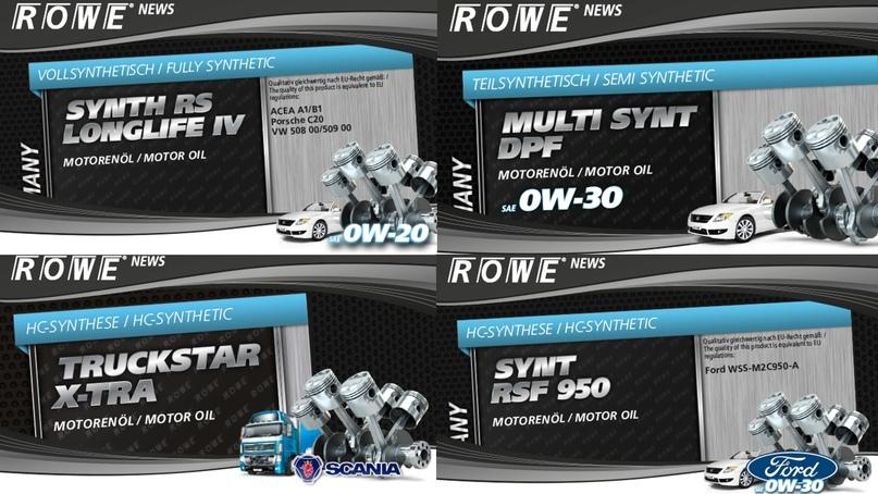 На канистрах немецкого моторного масла ROWE прописана технология производства: fully synthetic – полная синтетика, semi synthetic – полусинтетика, HC-synthetic – гидрокрекинговая синтетика