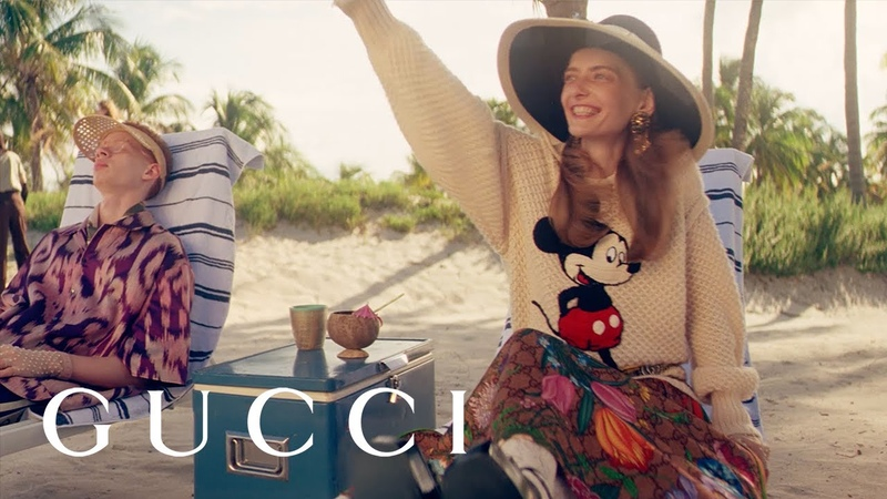 Gucci Getaway The Gift Giving 2019 Campaign