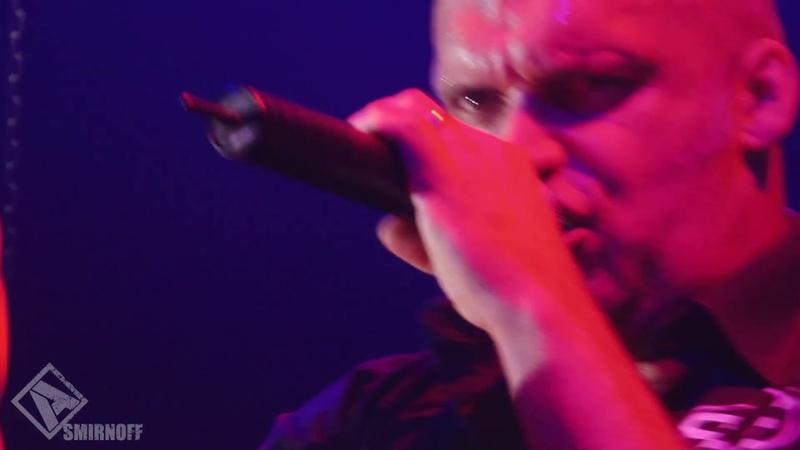 Andrey Smirnoff in Blaze Bayley band Watching The Night Sky live 2012