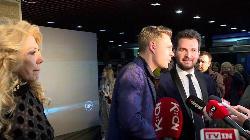 Milos Bikovic na premijeri filma Hotel Beograd Holivud je dosao da nas podrzi (TV KCN)