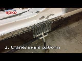Этапы кузовного ремонта Форда в автосервисе Ярко Ярославль