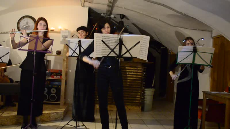 М. Корретт Комический концерт № 25 Les sauvages et la Furstemberg (часть 3)