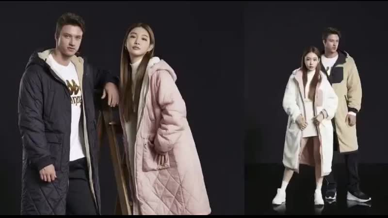 190930 Chungha for KAPPA Korea 2019 F/W: Reversible Fleece Jacket