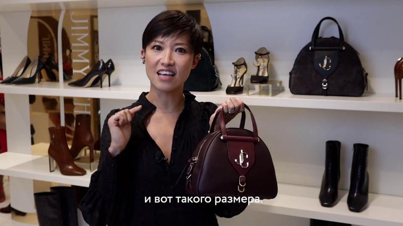 Сандра Чой в ЦУМе