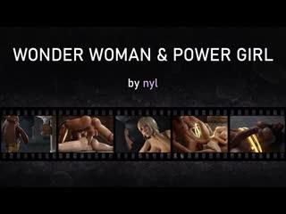 Wonder Woman and Power Girl