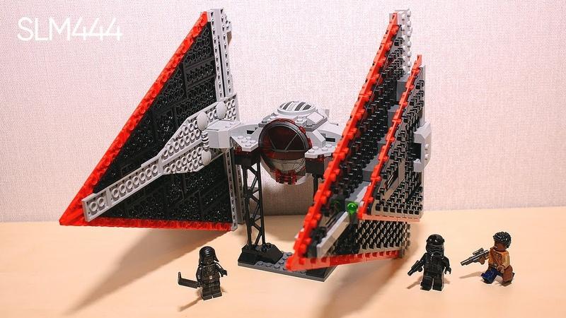 Обзор на LEGO Звездные Войны 75272 СИД Истребитель Ситхов