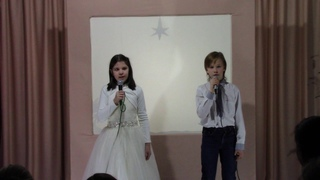 """Неизвестный автор """" Божий дар"""" читают Лиза и Ваня"""