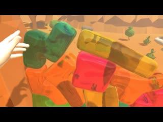Желе тетрис jello tetris in vr