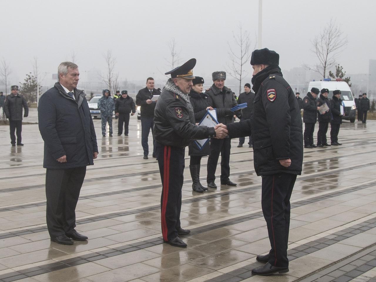 Таганрогу и другим городам Ростовской области передали новые автомобили ДПС