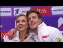 Victoria SINITSINA Nikita KATSALAPOV RUS Rhythm Dance 2019 Rostelecom Cup Raisport