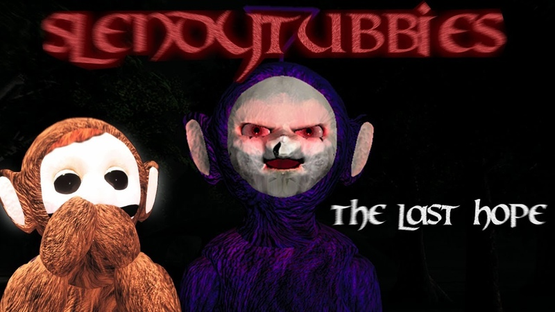 FROM THE SHADOWS TINKY WINKY COMES | SLENDYTUBBIES THE LAST HOPE ( PUBLIC DEMO) - MAINLAND NIGHT