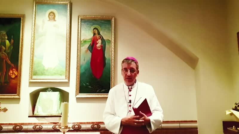 Слово Пастыря №15 Епископ Хосе Луис Мумбиела Сиерра