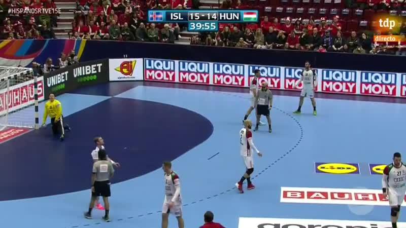 Campeonato de Europa Masculino Islandia Hungra