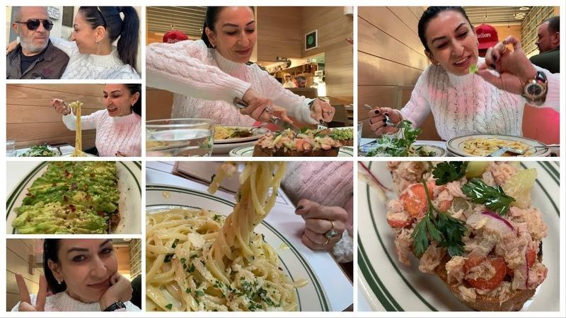 Обедаем в Итальянском Ресторане - Приторная Еда - Семейный Влог - Эгине - Heghineh Cooking Show