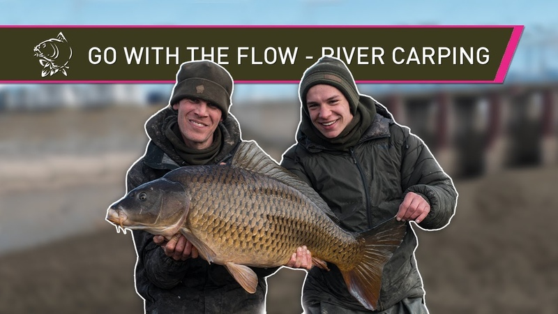 WINTER CARP FISHING with ALAN BLAIR - GO WITH THE FLOW