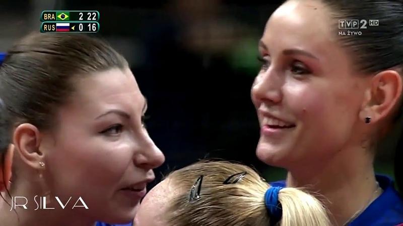 Beatiful and Talented Volleyball Player Natalia Goncharova
