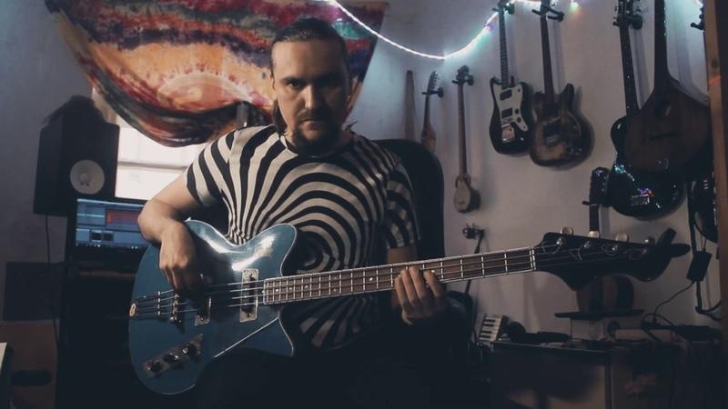 Винтажная бас гитара musima и crazy группы elektromaGnezia
